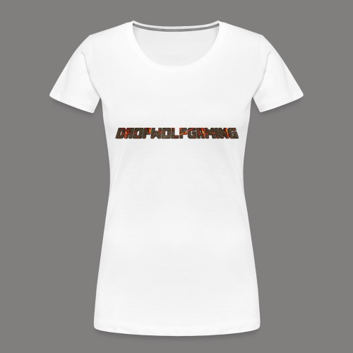 DropWolfGaming - Women's Premium Organic T-Shirt