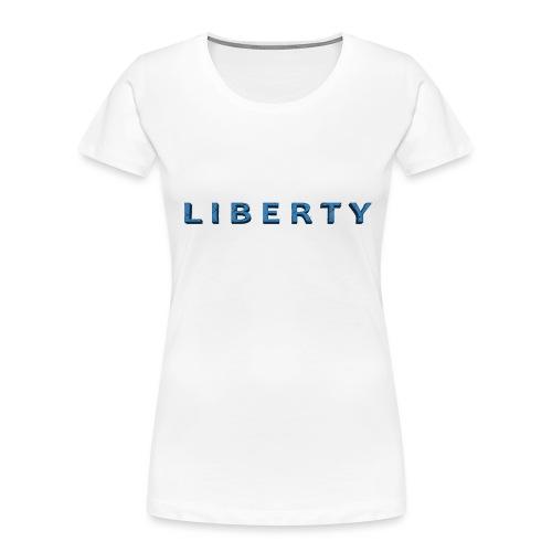 Liberty Libertarian Design - Women's Premium Organic T-Shirt