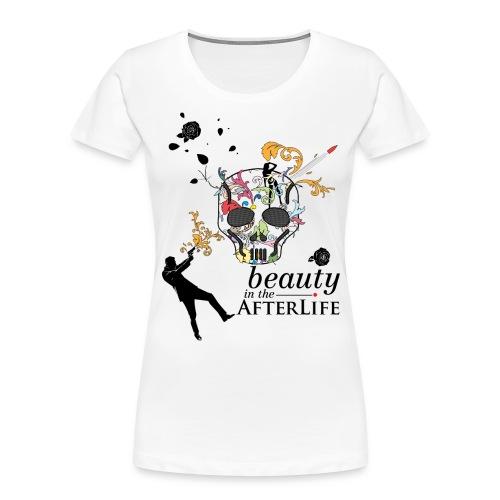 skull - Women's Premium Organic T-Shirt