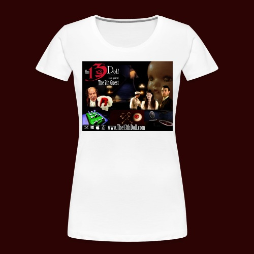 The 13th Doll Cast and Puzzles - Women's Premium Organic T-Shirt