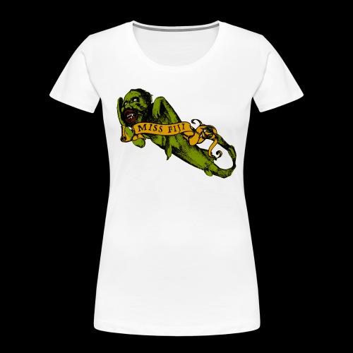 Barnum's Bride - Women's Premium Organic T-Shirt