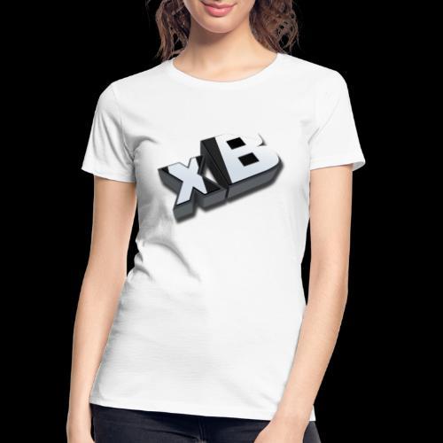 xB Logo - Women's Premium Organic T-Shirt