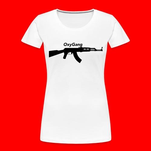 OxyGang: AK-47 Products - Women's Premium Organic T-Shirt