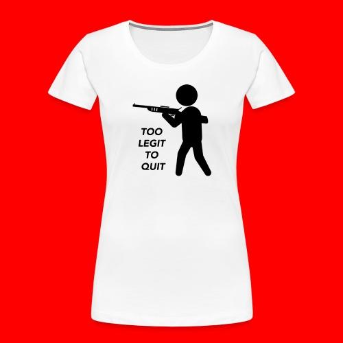 OxyGang: Too Legit To Quit Products - Women's Premium Organic T-Shirt