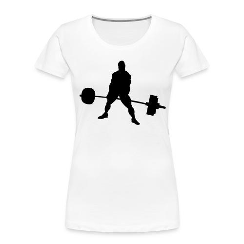 Powerlifting - Women's Premium Organic T-Shirt