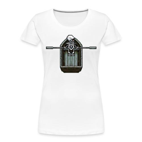 Ghost boat - Women's Premium Organic T-Shirt