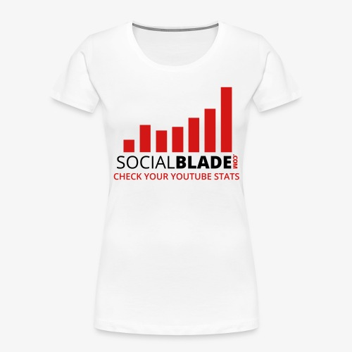 Traditional Logo Tagline - Women's Premium Organic T-Shirt