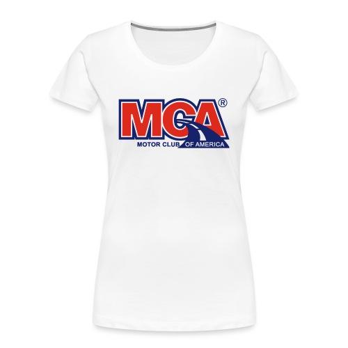 MCA - Women's Premium Organic T-Shirt