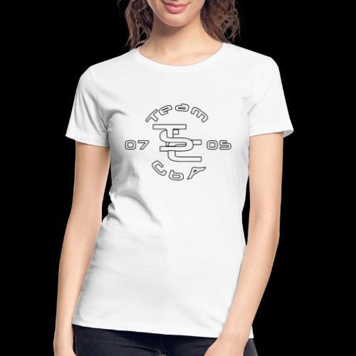 TSC Interlocked - Women's Premium Organic T-Shirt