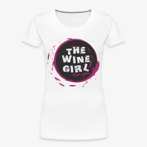 The Wine Girl - Women's Premium Organic T-Shirt