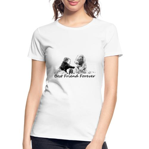 Best Friend Forever (boy) - Women's Premium Organic T-Shirt