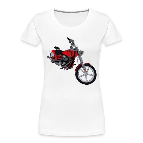 Motorcycle red - Women's Premium Organic T-Shirt