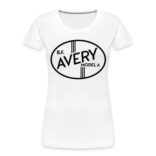 B.F. Avery Model A emblem - Autonaut.com - Women's Premium Organic T-Shirt