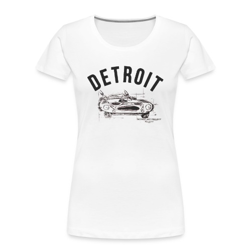Detroit Art Project - Women's Premium Organic T-Shirt
