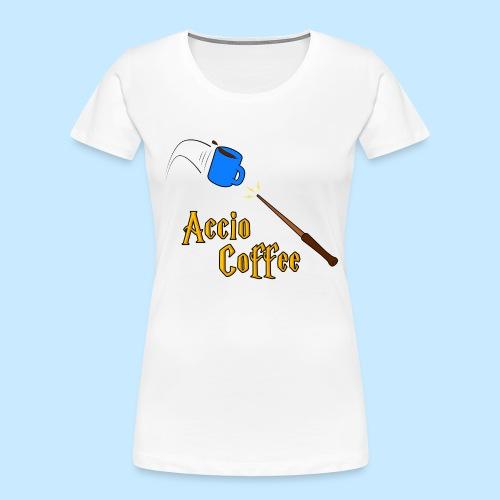 Accio Coffee - Women's Premium Organic T-Shirt