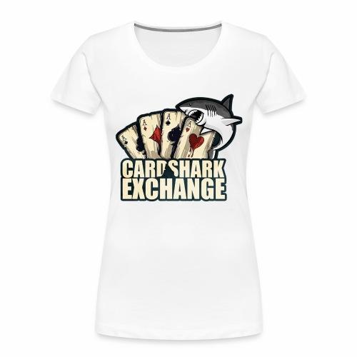Card Shark 1 - Women's Premium Organic T-Shirt