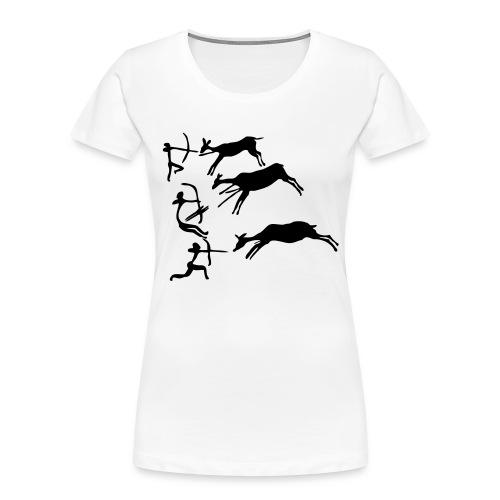 Lascaux Cave Painting - Women's Premium Organic T-Shirt