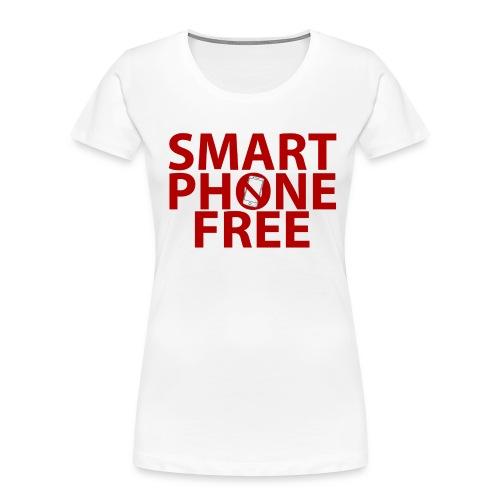 SMART PHONE FREE - Women's Premium Organic T-Shirt