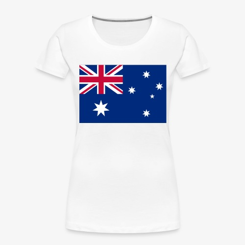 Bradys Auzzie prints - Women's Premium Organic T-Shirt
