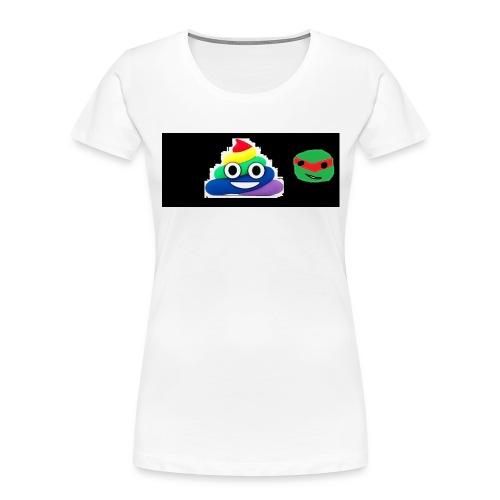 ninja poop - Women's Premium Organic T-Shirt