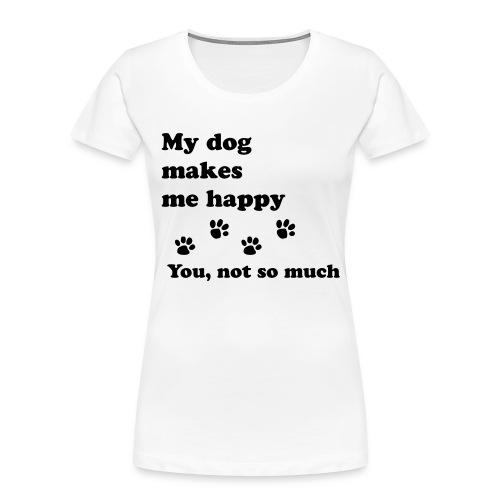 love dog 2 - Women's Premium Organic T-Shirt