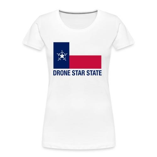 Drone Star State - Long Sleeve - Women's Premium Organic T-Shirt