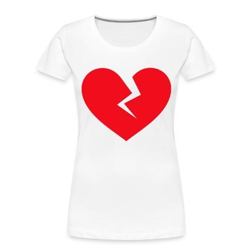 Broken Heart - Women's Premium Organic T-Shirt