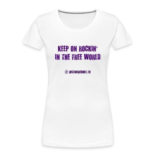 KORITFW - Women's Premium Organic T-Shirt