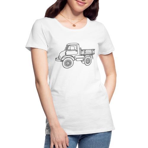Off-road truck, transporter - Women's Premium Organic T-Shirt