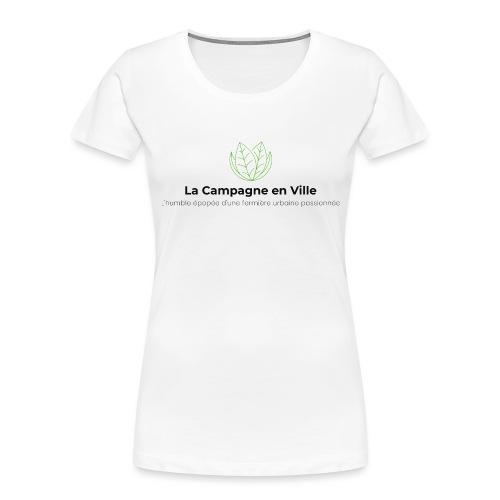 Original CeV Logo - Women's Premium Organic T-Shirt