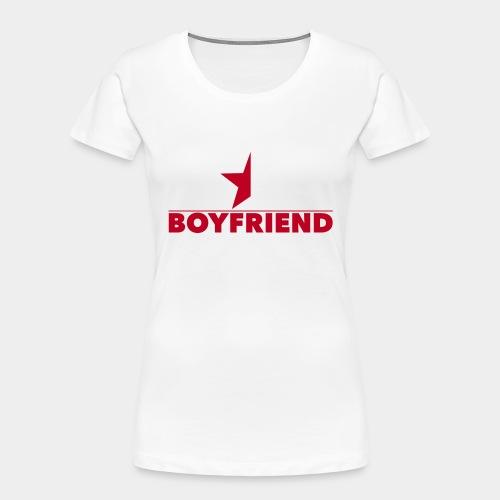 Half-Star Boyfriend - Women's Premium Organic T-Shirt