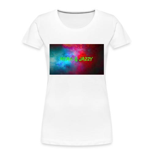 NYAH AND JAZZY - Women's Premium Organic T-Shirt