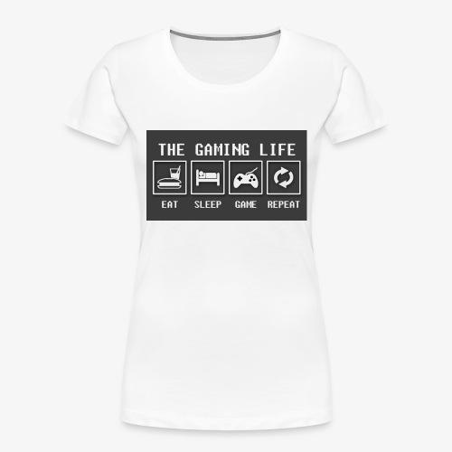 Gaming is life - Women's Premium Organic T-Shirt