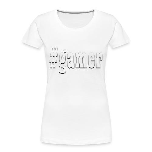 Perfection for any gamer - Women's Premium Organic T-Shirt