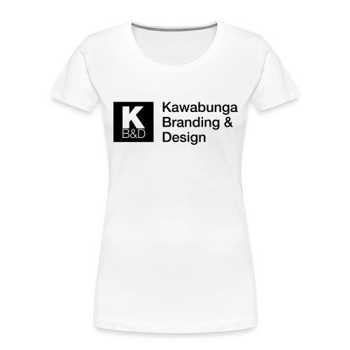 KBD signature - Women's Premium Organic T-Shirt