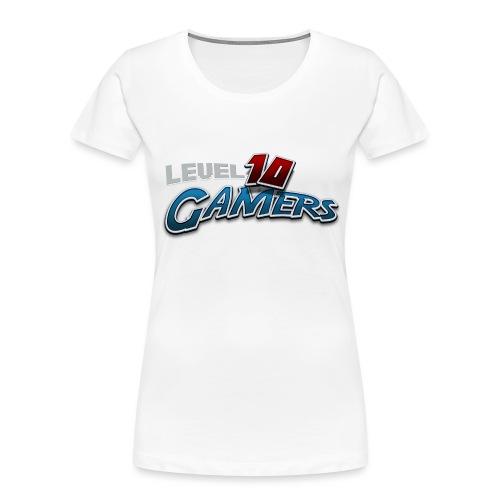 Level10Gamers Logo - Women's Premium Organic T-Shirt