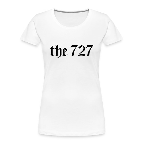 The 727 in Black Lettering - Women's Premium Organic T-Shirt