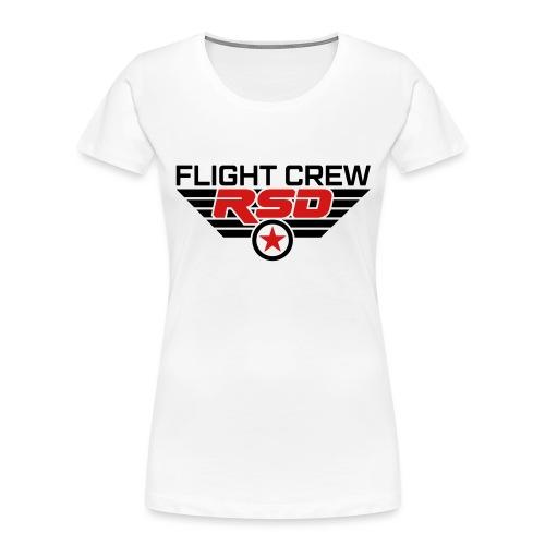 RSD Flight Crew - Women's Premium Organic T-Shirt