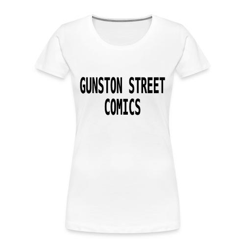GUNSTON STREET COMICS - Women's Premium Organic T-Shirt