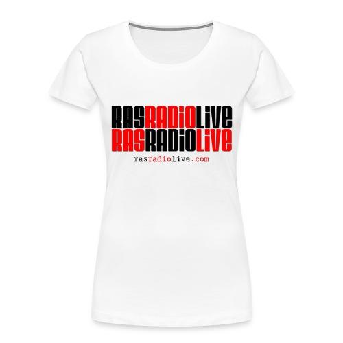 rasradiolive png - Women's Premium Organic T-Shirt