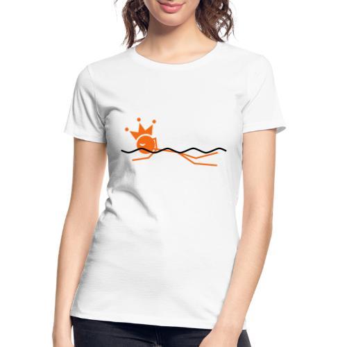 Winky Swimming King - Women's Premium Organic T-Shirt