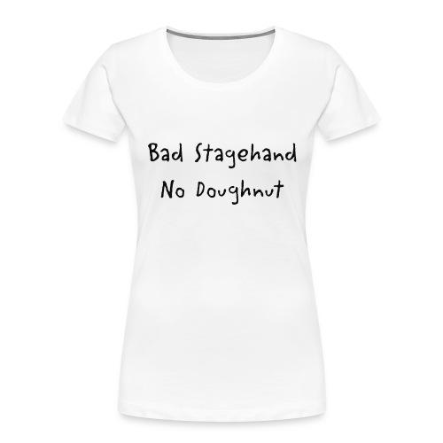 baddoughnut - Women's Premium Organic T-Shirt