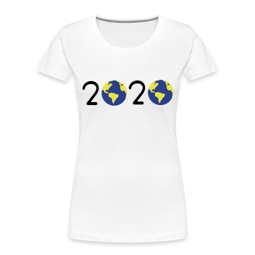 2020 earth day - Women's Premium Organic T-Shirt