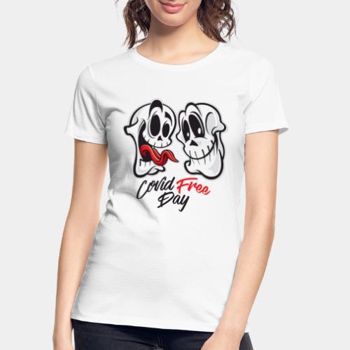 covid free day - Women's Premium Organic T-Shirt