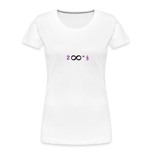 To Infinity And Beyond - Women's Premium Organic T-Shirt