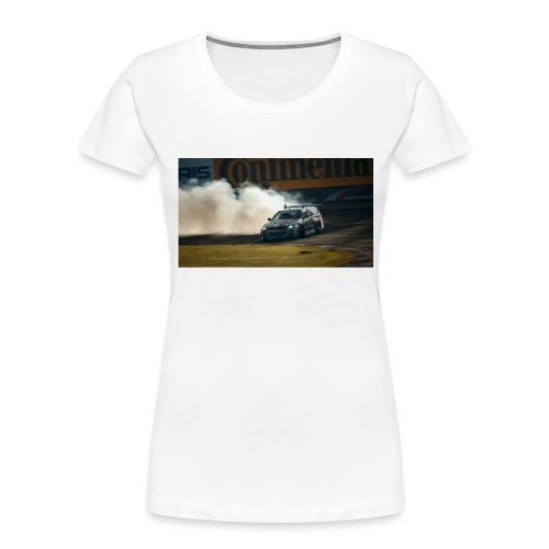 nissan skyline gtr drift r34 96268 1280x720 - Women's Premium Organic T-Shirt