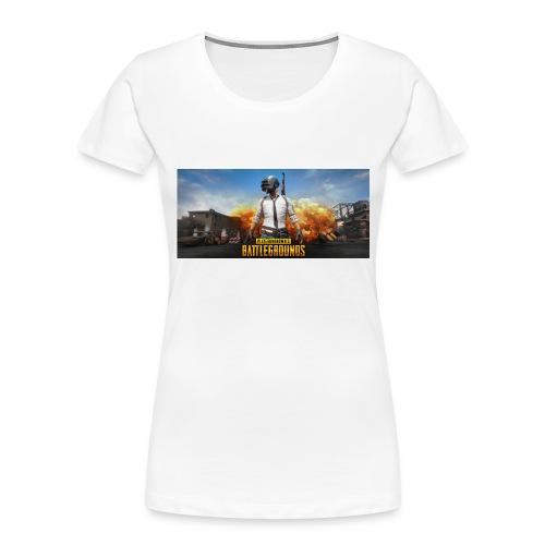 pubg 1 - Women's Premium Organic T-Shirt