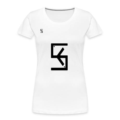 Soft Kore Logo Black - Women's Premium Organic T-Shirt
