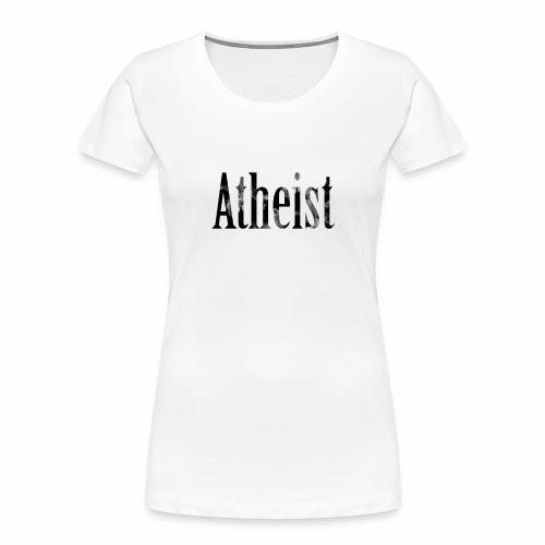 Faded Atheist - Women's Premium Organic T-Shirt
