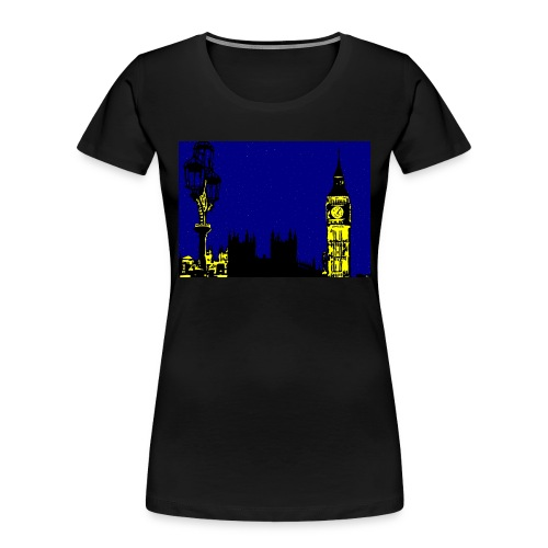 LONDON - Women's Premium Organic T-Shirt